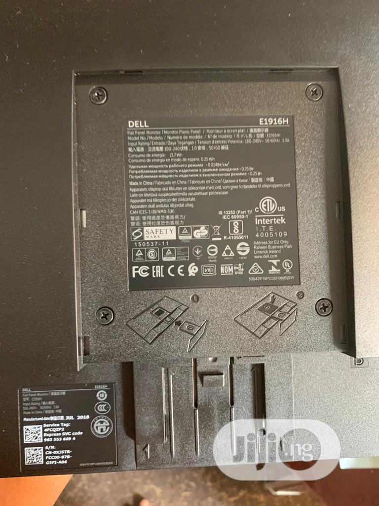 Archive: Dell 19' Monitor E1916H