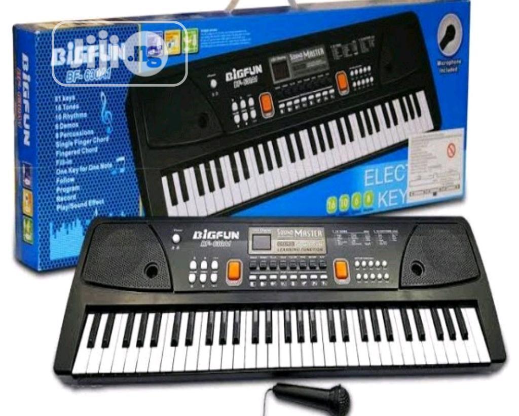 Archive: BIGFUN 61 Keys Big Fun Musical Electronic Keyboard Piano Organ