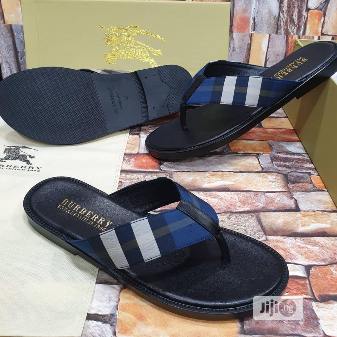 Burberry Slippers in Surulere - Shoes
