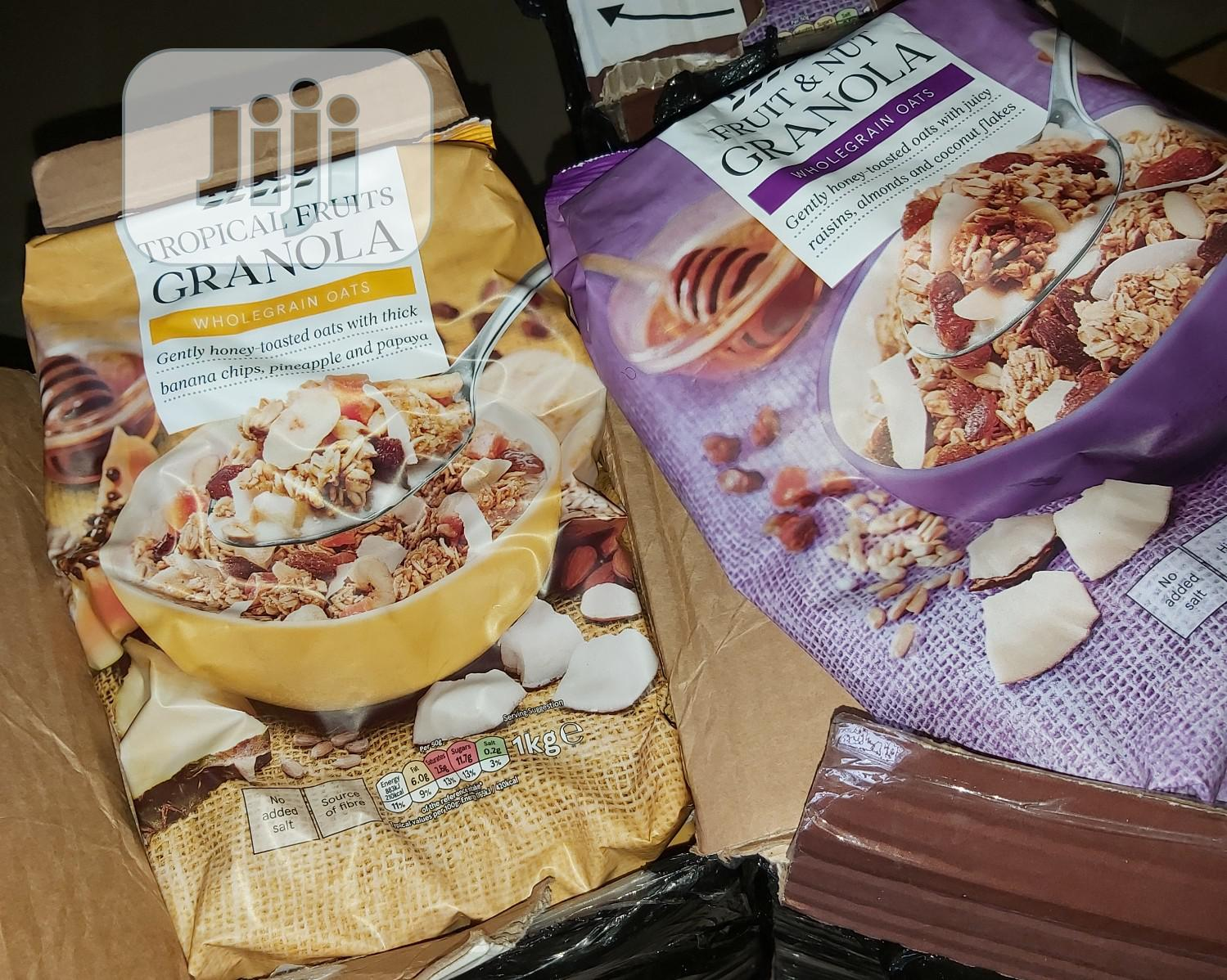Tesco Fruit And Nut Granola 1kg | Meals & Drinks for sale in Surulere, Lagos State, Nigeria