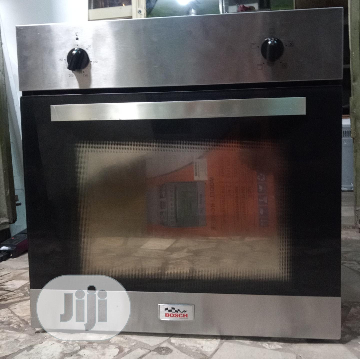 Bosch Built in Oven With Convention and Warranty