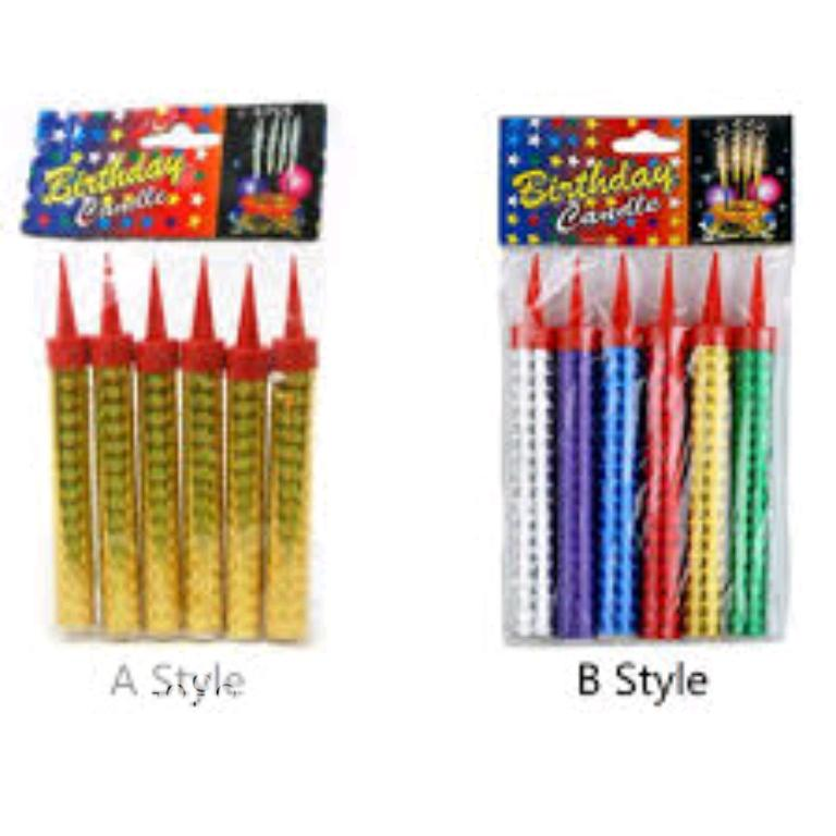 Archive: Firework Birthday Cake Sparklers Candle