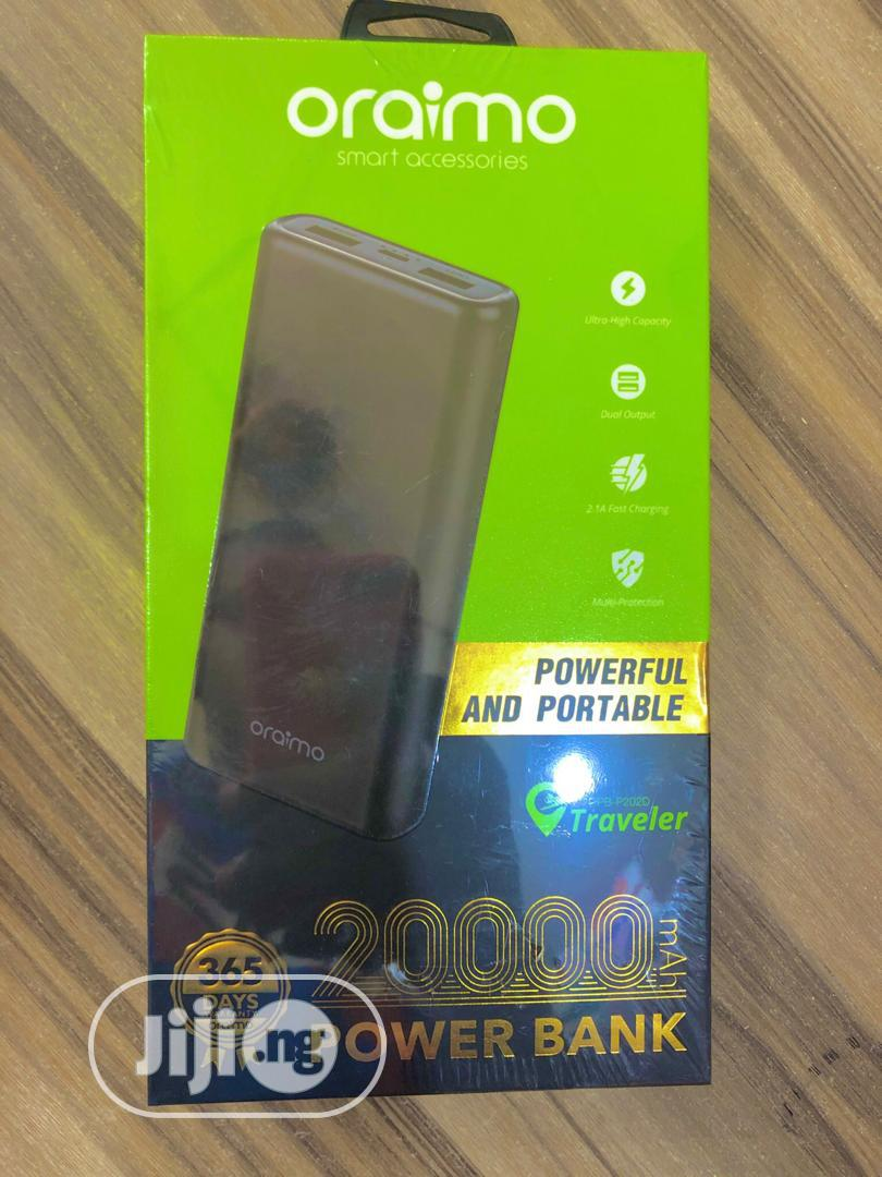Oraimo Power Bank | Accessories for Mobile Phones & Tablets for sale in Port-Harcourt, Rivers State, Nigeria