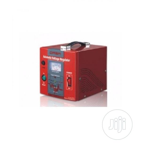 Qasa Avr Pro 1000va Relay Automatic Voltage Stabilizer | Electrical Equipment for sale in Alimosho, Lagos State, Nigeria
