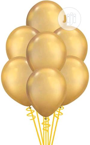 Gold Biodegradable Latex Balloons, 11-inches, 100-units Per Pack 1pack | Party, Catering & Event Services for sale in Lagos State, Lagos Island (Eko)