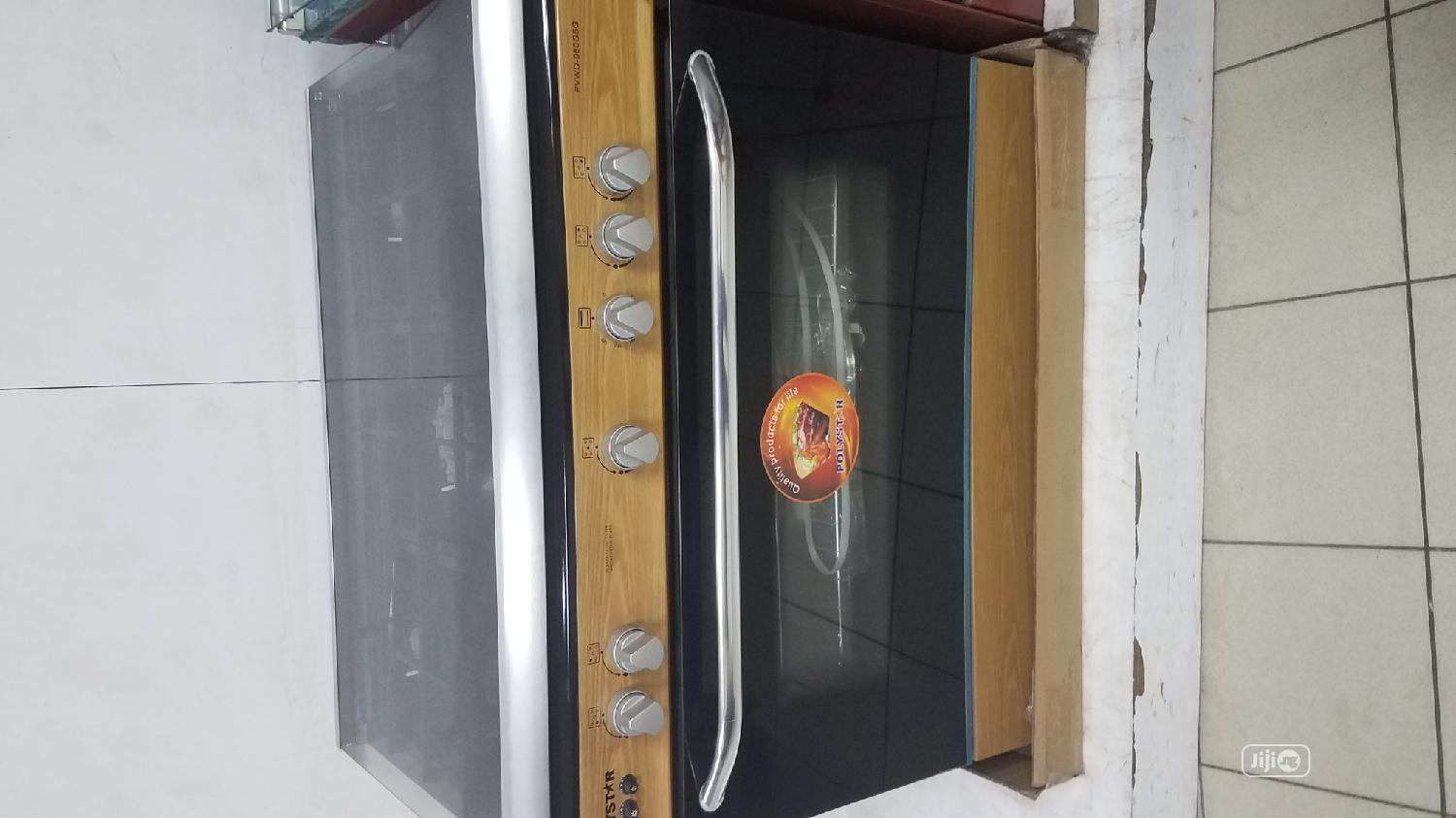 Archive: 5 BURNER Gas COOKER With Oven