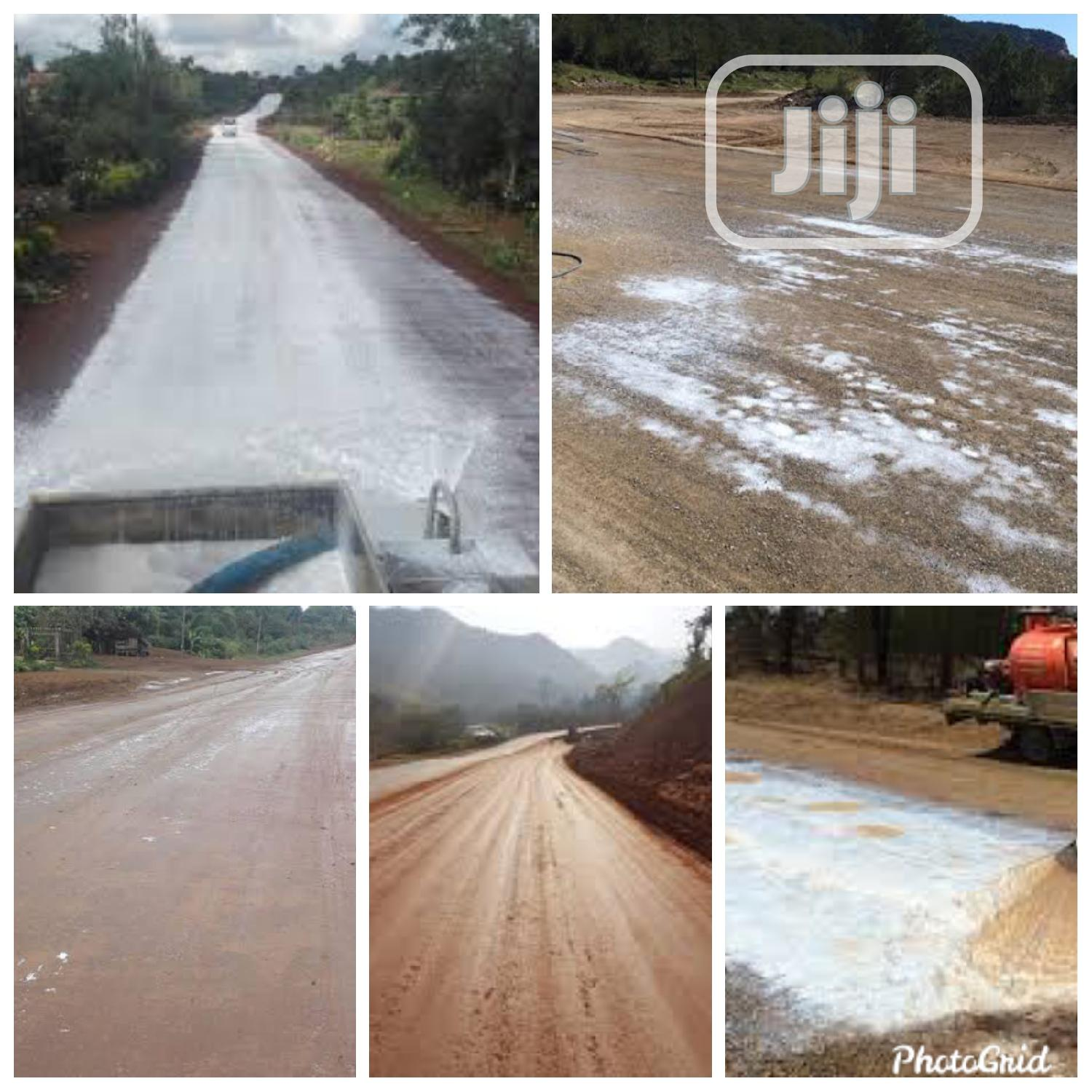 Using Soil Hardeners To Build Temporarily Motorable Roads