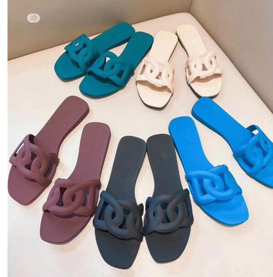 Ladies Fashionable Jelly Slippers | Shoes for sale in Lagos Island (Eko), Lagos State, Nigeria