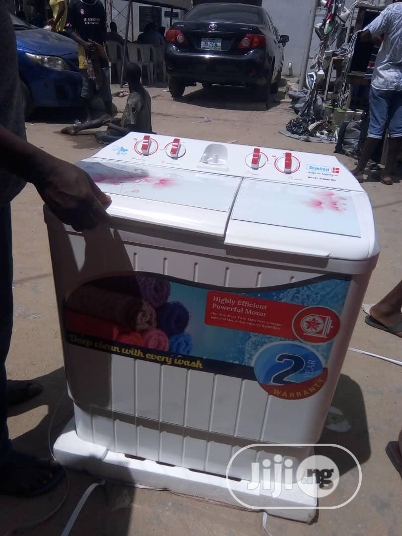 Scanfrost Washing Machine | Home Appliances for sale in Ojo, Lagos State, Nigeria