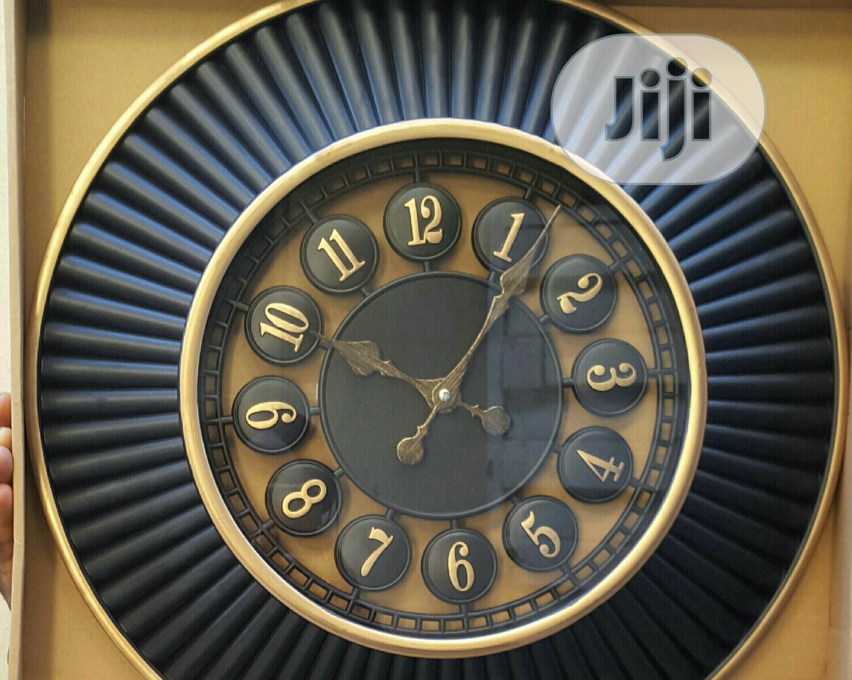 Beautiful Black Wall Clock