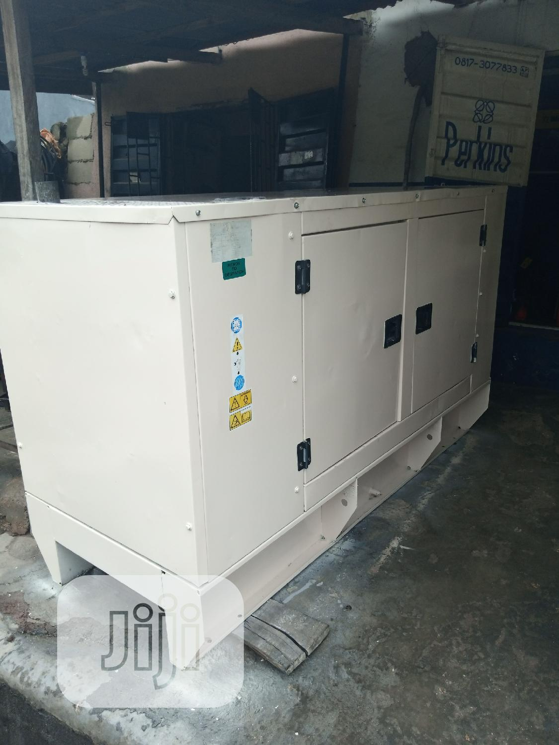 30 Kva Marapco Perkins Generator Very Clean And Silent Soundproof | Electrical Equipment for sale in Ikeja, Lagos State, Nigeria