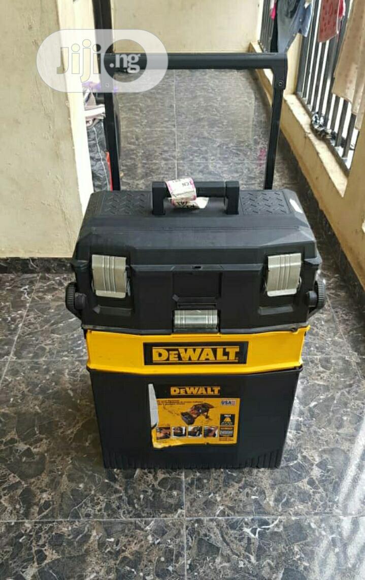 Mobile Portable Dewalt Tool Box