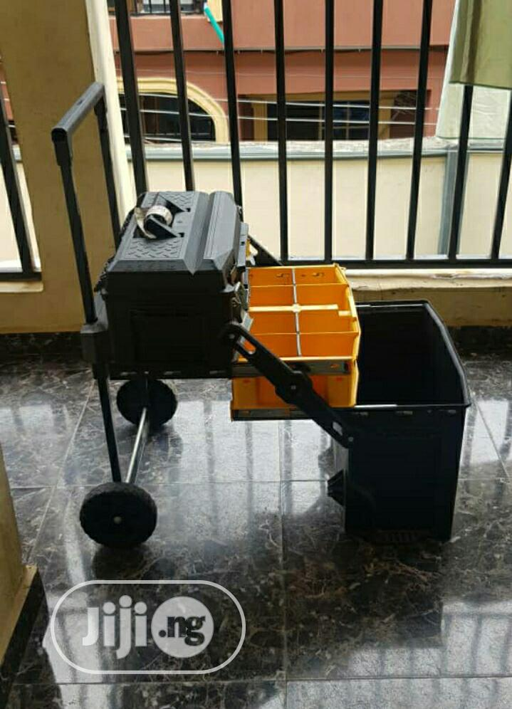 Mobile Portable Dewalt Tool Box | Hand Tools for sale in Isolo, Lagos State, Nigeria