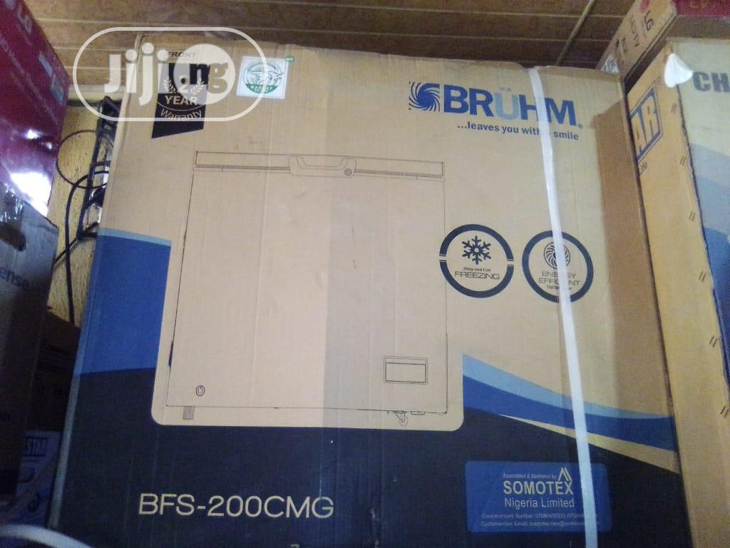 Bruhm Chest Freezer 200L