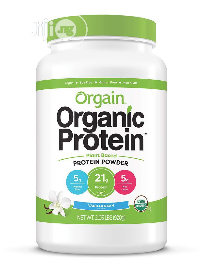 Plant Based Protein Powder - Vanilla Bean - 2lbs