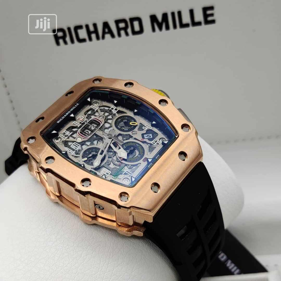 Top Quality Richard Mille Rubber Strap
