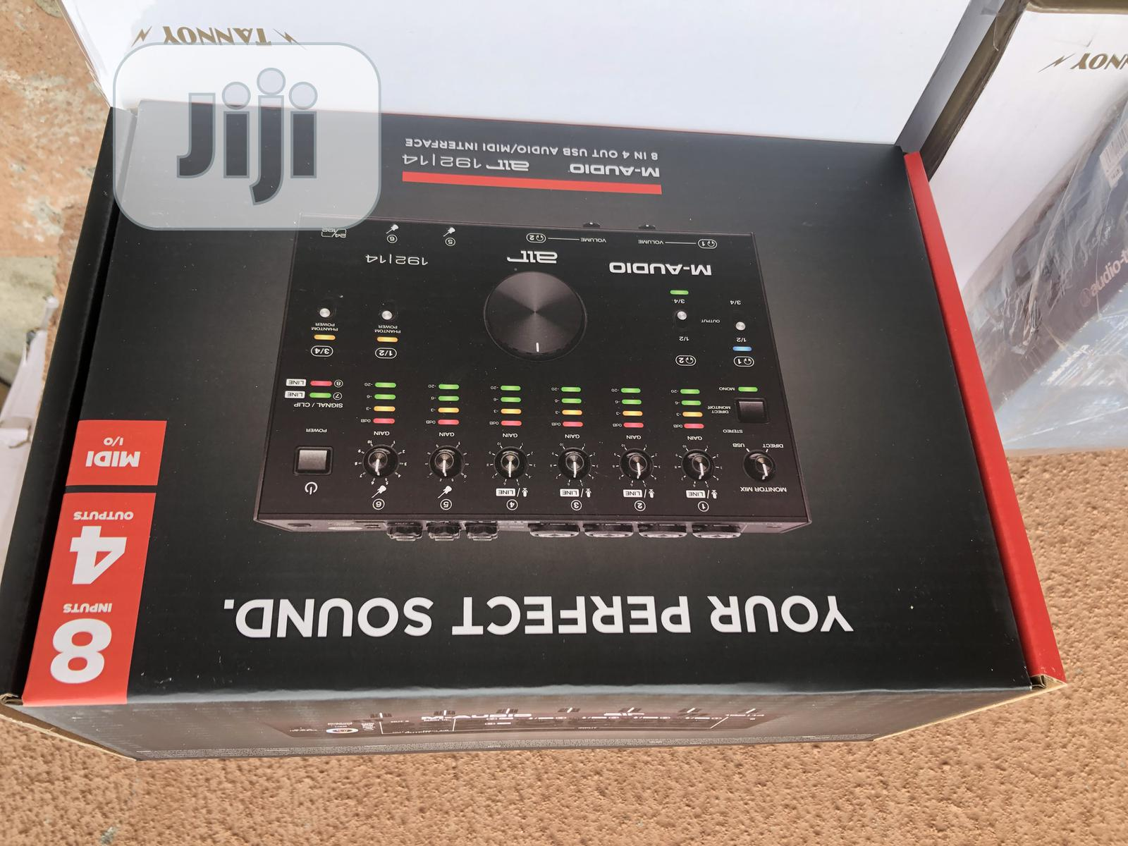 Maudio 2I2 Sound Card | Audio & Music Equipment for sale in Lagos Island (Eko), Lagos State, Nigeria
