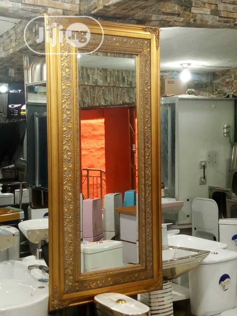 Exotic Gold Mirror