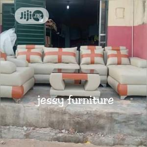 New Set of L-Shaped Sofa With One Single and a Center Table | Furniture for sale in Lagos State, Ikeja