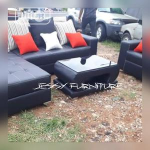New Set Of L-shaped Sofa With One Single And A Center Table.. | Furniture for sale in Lagos State, Lekki