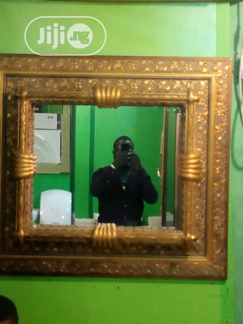 Archive: Exotic Gold Mirror