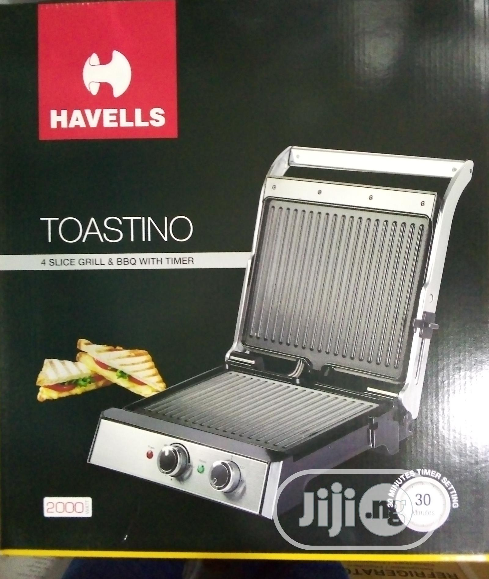 4 Slice Health Grill With Barbeque Timer