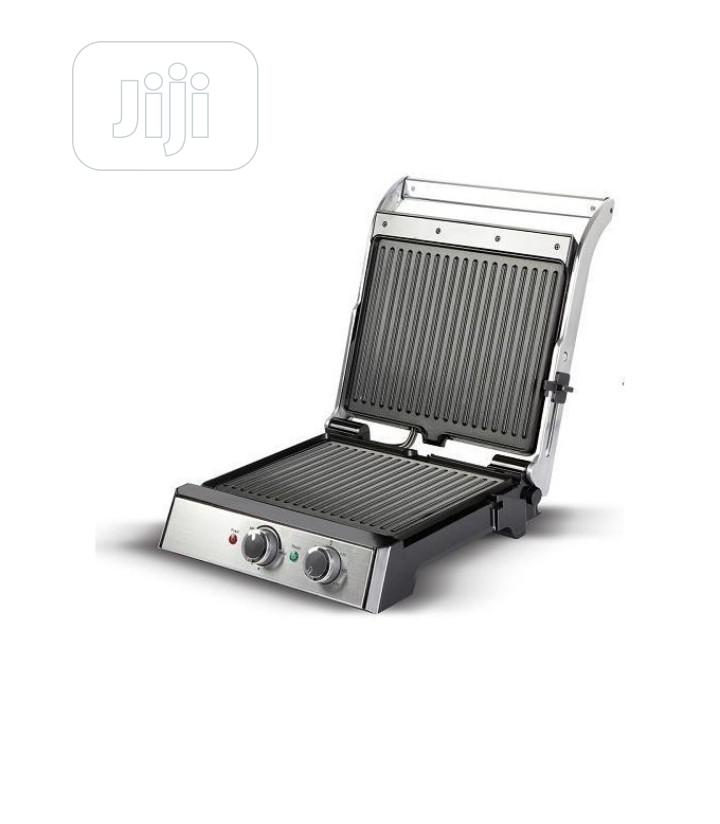 4 Slice Health Grill With Barbeque Timer | Kitchen Appliances for sale in Lagos Island (Eko), Lagos State, Nigeria