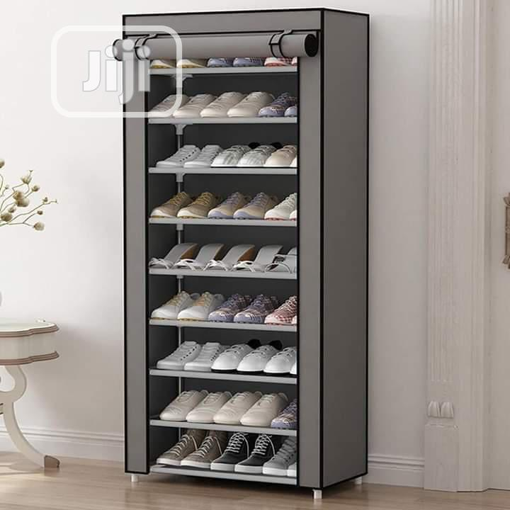 Shoe Rack With Cover