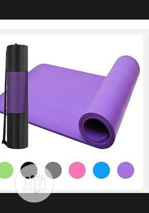 Thick Yoga Mat   Sports Equipment for sale in Lagos State, Surulere