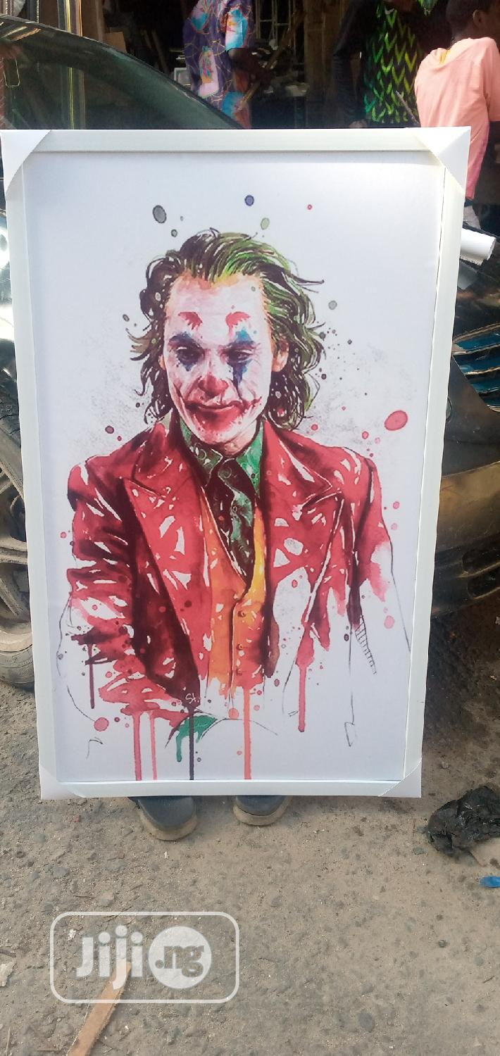 Joker Framed Artwork