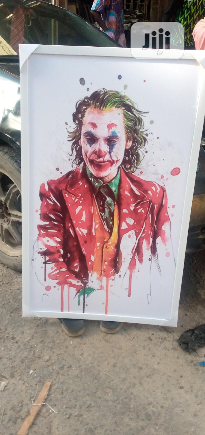 Joker Framed Artwork | Arts & Crafts for sale in Ajah, Lagos State, Nigeria