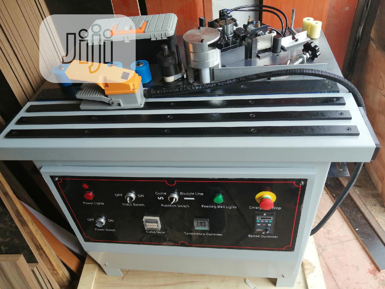 Edge Banding Machine. Low Power Consumption
