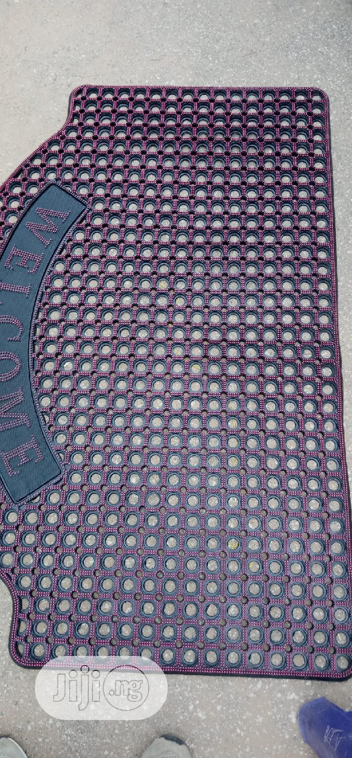 Big Holo Rubber Welcome Mat | Building Materials for sale in Wuse, Abuja (FCT) State, Nigeria