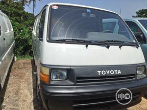 Toyota Hiace Carriage Bus 1996 Model White | Buses & Microbuses for sale in Lagos State, Apapa