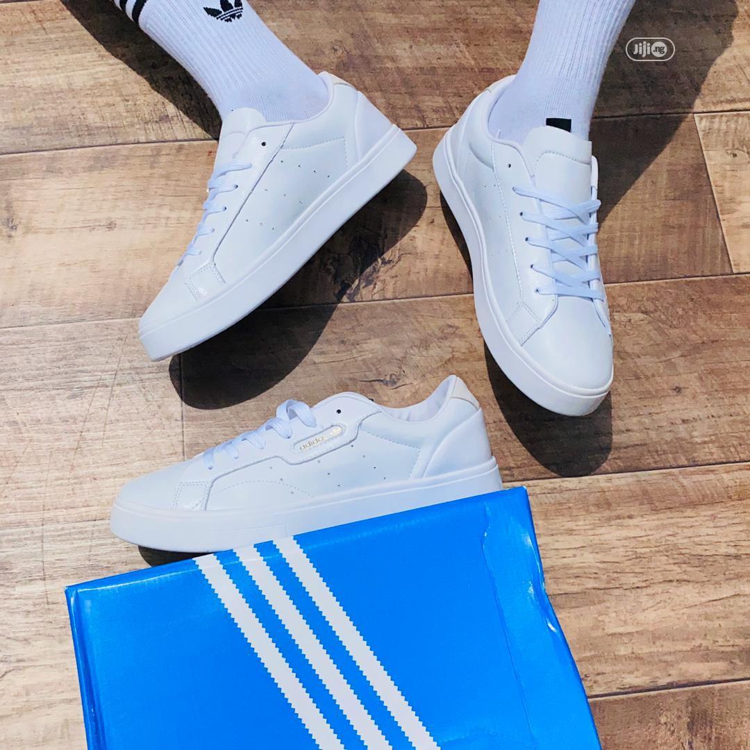Adidas Sleek Super White | Shoes for sale in Lagos Island (Eko), Lagos State, Nigeria