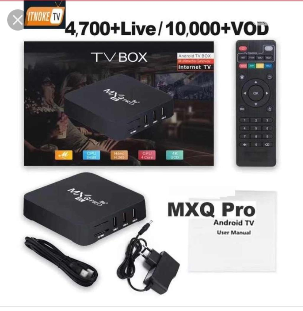 Tv Box Encoder Mxq Pro 4k