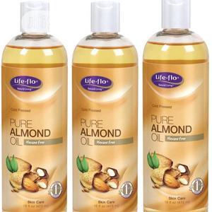 Life-flo Pure Almond Oil Skin Care 16 Fl Oz (473ml) | Skin Care for sale in Lagos State, Ikeja