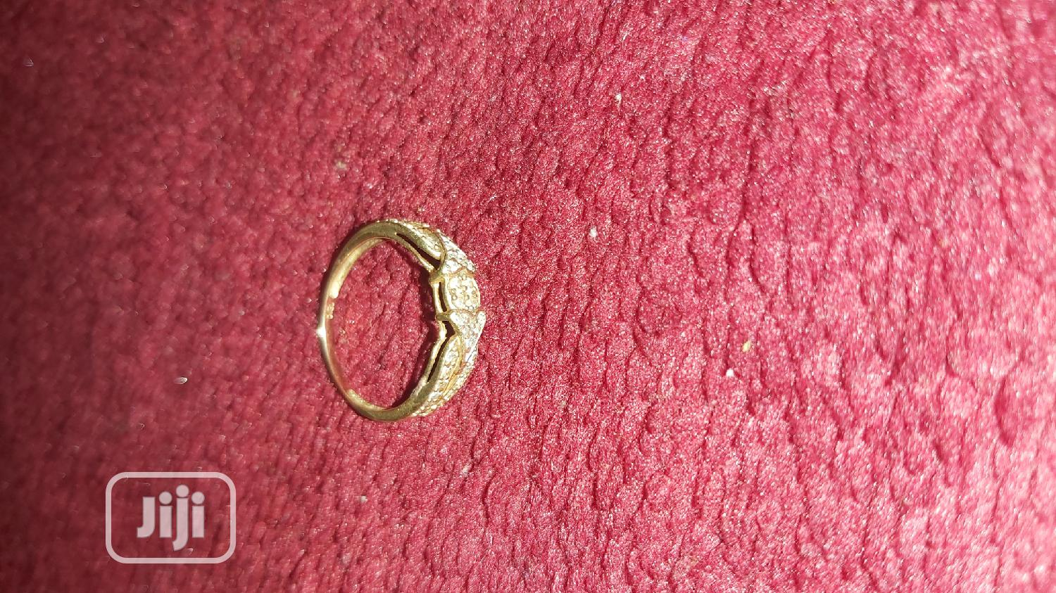 ITALY 750 Tested 18karat Engagement Ring | Wedding Wear & Accessories for sale in Amuwo-Odofin, Lagos State, Nigeria