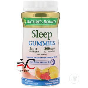 Nature's Bounty Sleep Gummies Tropical Punch Flavored 60 | Vitamins & Supplements for sale in Lagos State, Ojo