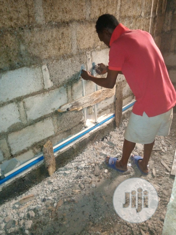 Plumbing Works   Construction & Skilled trade CVs for sale in Benin City, Edo State, Nigeria