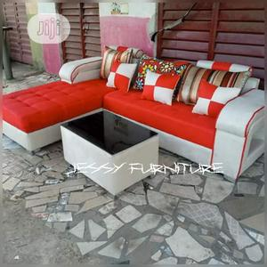 New Set Of L-shaped Sofa And A Center Table | Furniture for sale in Lagos State, Ajah