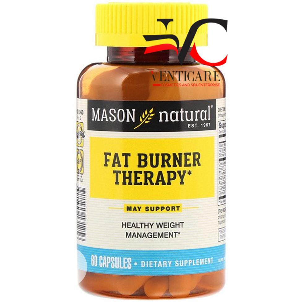Mason Natural, Fat Burner Therapy, 60 Capsules | Vitamins & Supplements for sale in Ojo, Lagos State, Nigeria