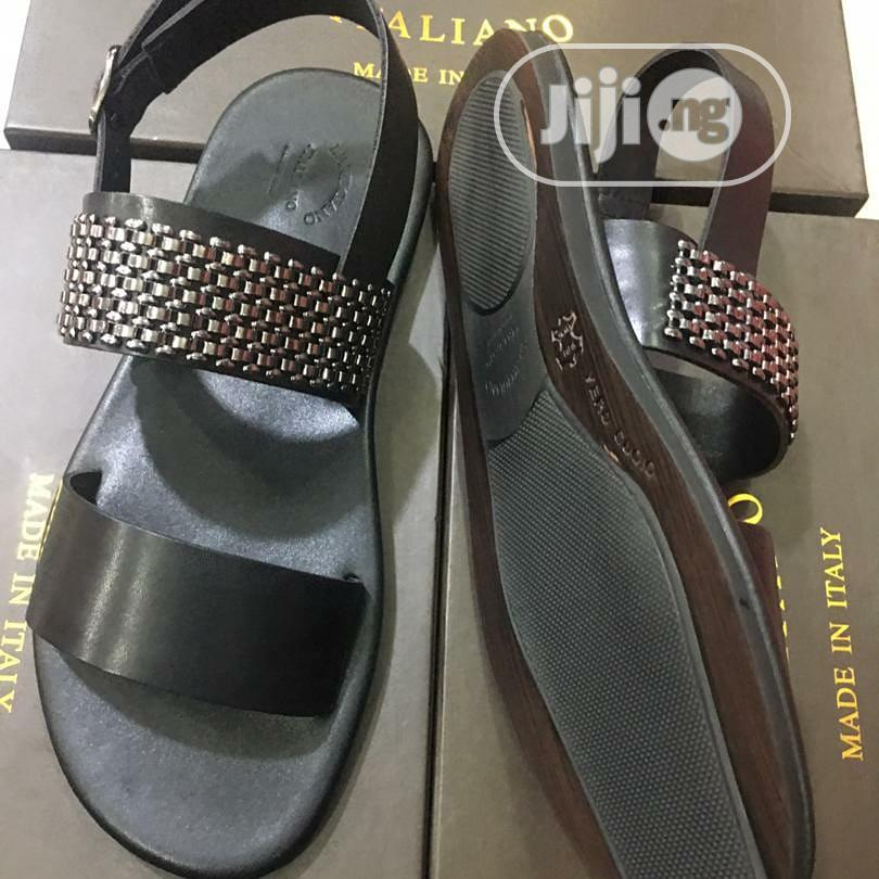 Quality Lartigiano Italiano Men's Leather Sandals | Shoes for sale in Lagos Island (Eko), Lagos State, Nigeria