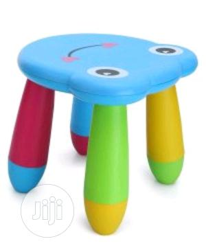 Plastic Chair Cat Face Print Stool For Kids   Children's Furniture for sale in Lagos State, Lagos Island (Eko)