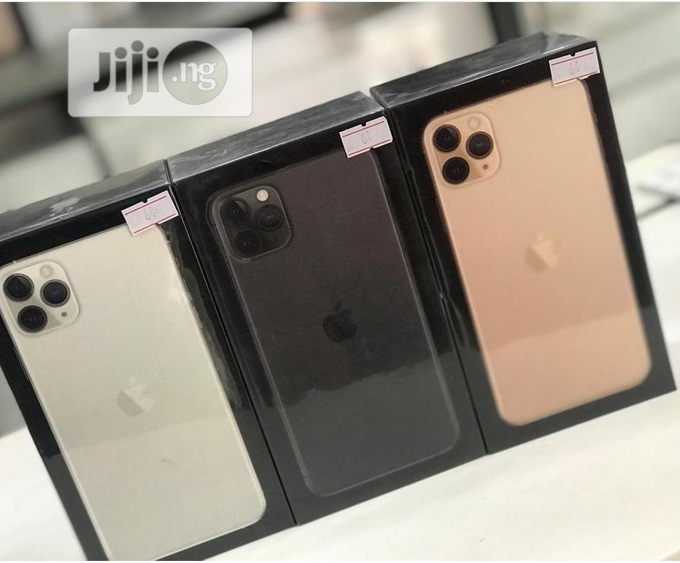 New Apple iPhone 11 Pro Max 256 GB Black | Mobile Phones for sale in Lekki Phase 1, Lagos State, Nigeria