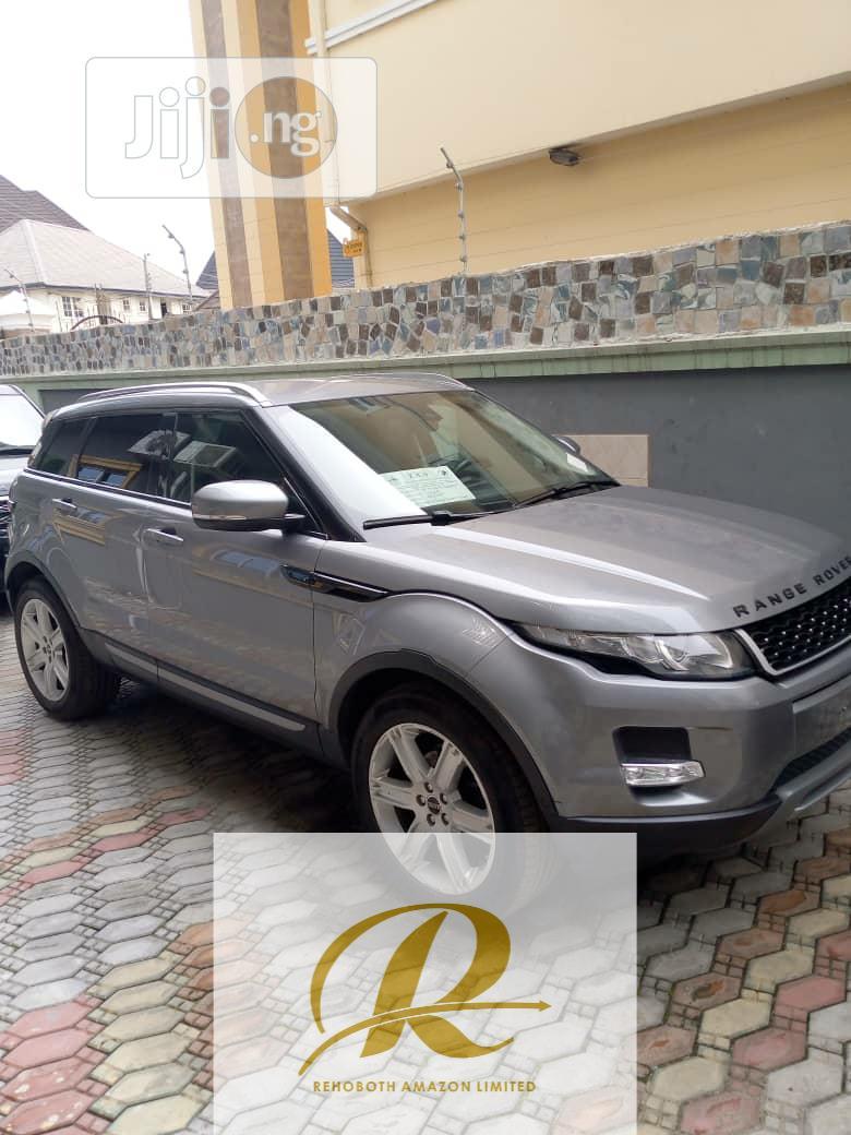 Land Rover Range Rover Evoque 2012 Dynamic Gray