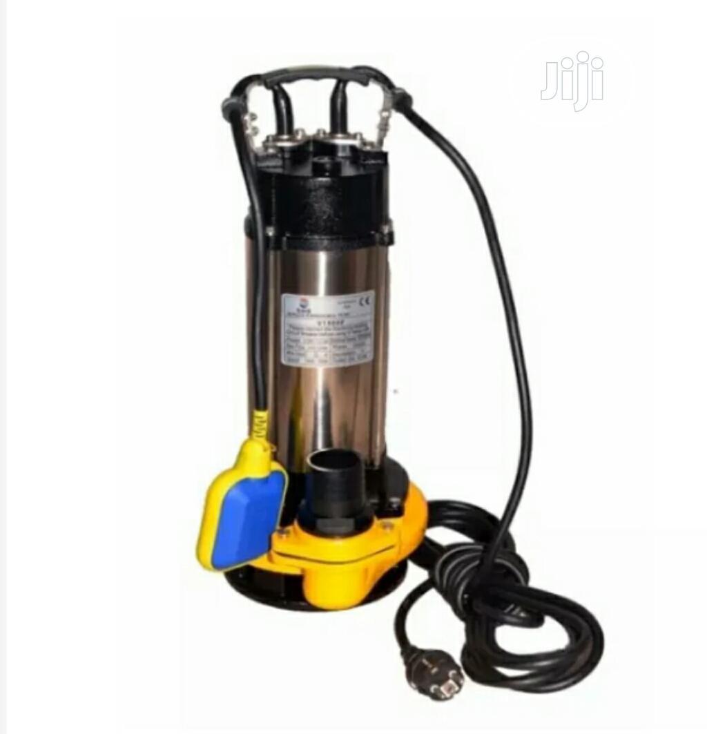 2hp Sewage Pump