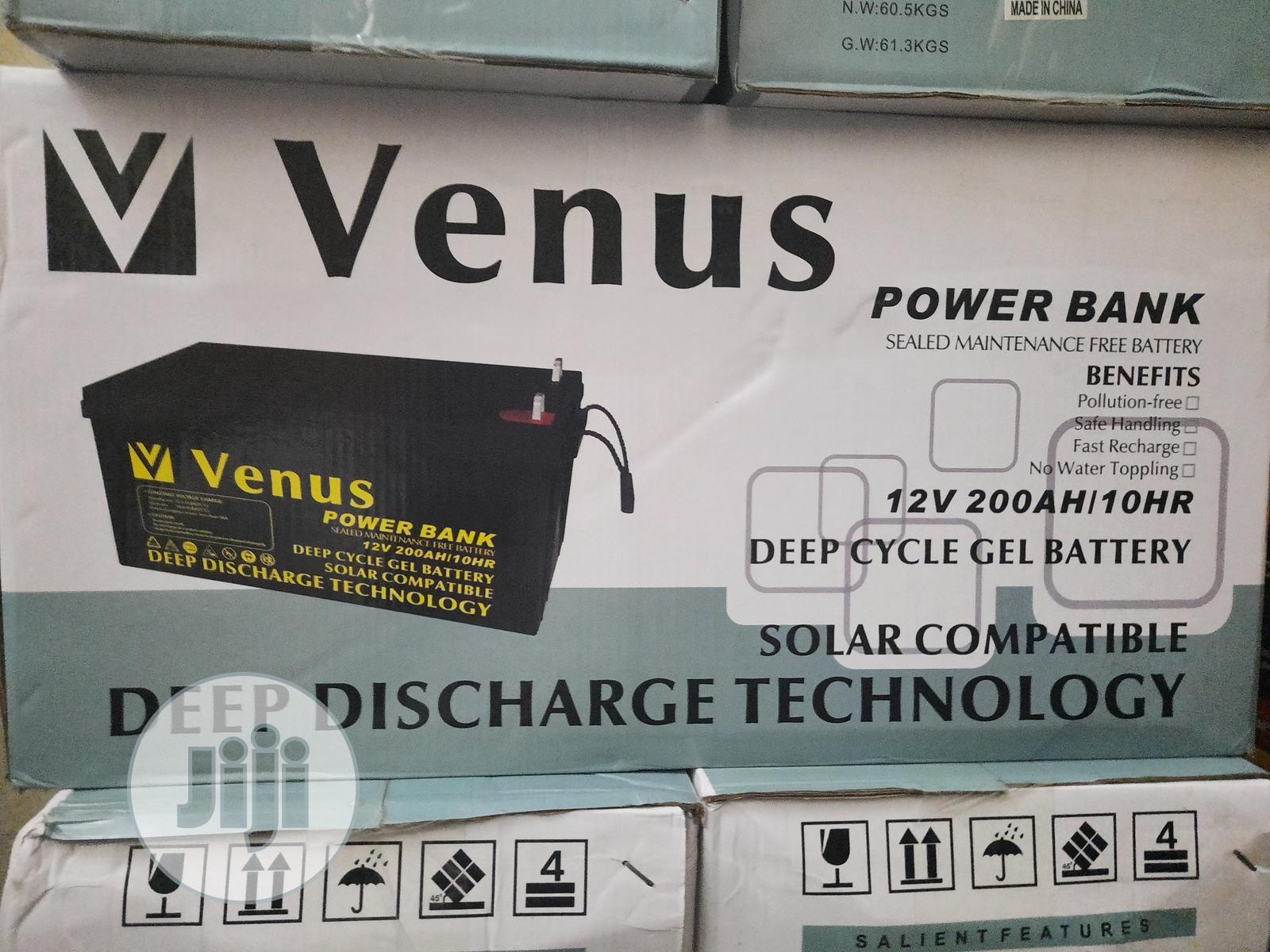 Venus Battery 12v/200ah