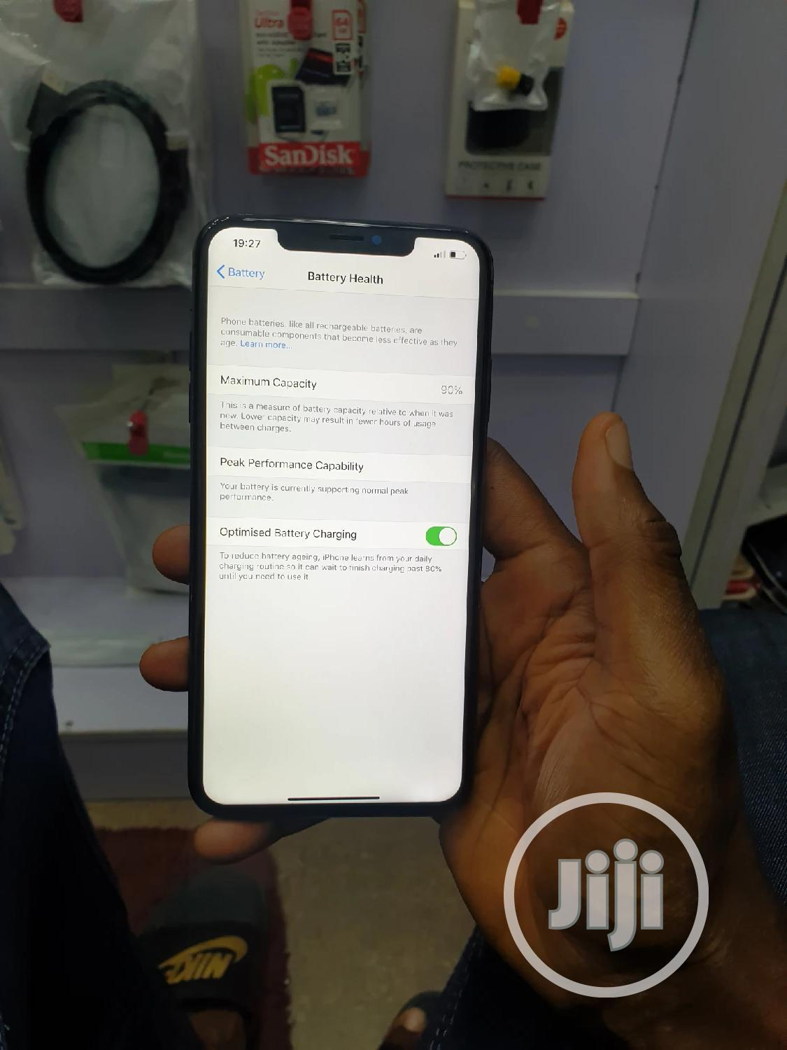 Apple iPhone XS Max 64 GB Black   Mobile Phones for sale in Wuse 2, Abuja (FCT) State, Nigeria