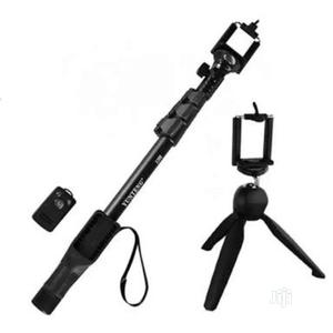 Yunteng 1288 Monopod With Yunteng Tripod | Accessories & Supplies for Electronics for sale in Lagos State, Alimosho